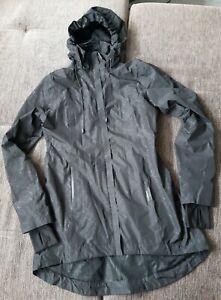 Mondetta Regenjacke lang longjacke Schwarz Gr S 36 neuwertig
