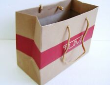 "Tumi Authentic Small Paper Shopping Bag Gift Bag 10""X 7.25"" X 4.6"""