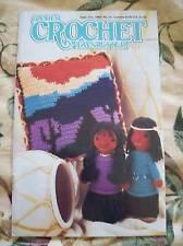 Vintage Annie's Crochet Newsletter September October 1988 #35 Doll Basket Dress