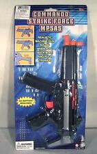 6 MP5 COMMANDO STRIKE FORCE MACHINE GUN toy play rifle with SOUND prop kids NEW