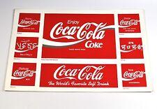 Coca Cola Coke 8 Aufkleber USA 1992 Sticker Länder Logos Russia Morocco Mexico