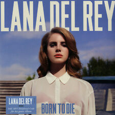 LANA DEL REY - BORN TO DIE (1LP vinyle, Gatefold + download) 2012 Vertigo Berlin