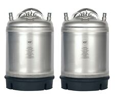 2 Pk New 2.5 Gallon Ball Lock Kegs Homebrew - Beer - Cold Brew - Free Shipping