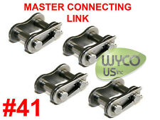 4 Master Connecting Links #41 For Roller Chain #41, Go Karts, Thunder Carts, 4X4