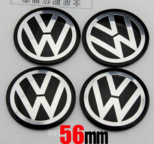 "4x 56mm 2.2"" Auto Refitting Wheel Center Hub Cap Emblem Badge Decal Sticker for"