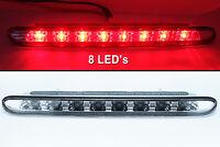 3rd Third Brake Light Trunk For Peugeot 206cc 206 cc - Red LED / Clear Lens
