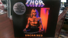 THOR - UNCHAINED CD/DVD Lightning Strikes War Hammer Rock The City MeTal