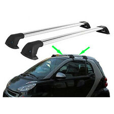 2pcs For Mercedes-Benz SMART 2-Doors 2008-2017 Luggage Carrier Roof Rack HOLDER