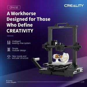Creality CR-6 SE 3D Printer+10 nozzles - US Authorized Reseller - Lowest price