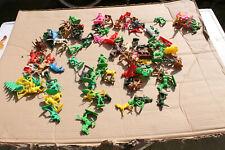 no 5 lot  soldat figurine jouets bonux mir huilor clairet crescent comansi