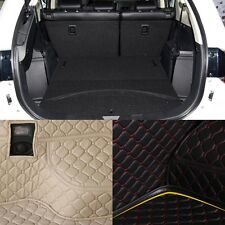 PU Rear Trunk Cargo Liner Protector Mat Seat Back Pad For Mitsubishi Outlander