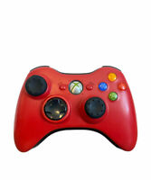 Microsoft Xbox 360 Limited Edition RED Wireless Controller OEM Tested