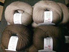 Debbie Bliss Rialto Lace 100% Extra Fine Merino Wool 2 x #31 Stone & 3 x #32 Bar