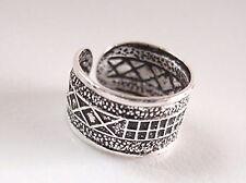 Ethnic Art Symbols Ear Cuff Earring 925 Sterling Silver Earcuff Corona Sun
