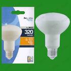 4x 8w (= 60w) R80 LED Ahorro De Energía Reflector Foco Bombilla ES E27