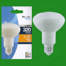 12x 8W (=60W) R80 LED Energy Saving Reflector Spotlight Bulb ES E27 Light Lamp