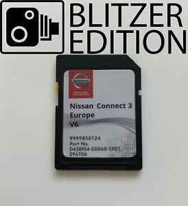 NISSAN CONNECT 3 SD KARTE CARD EUROPA V6 2020-2021 QASHQAI JUKE MICRA NOTE