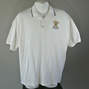 BOBBY ORR Hall of Fame Hockey Polo Golf Shirt Shirt XXL 2XL Boston Bruins