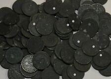 Drittes Reich 100 x 5 Reichspfennig Zink Münzen Lot Third Reich Lagerauflösung