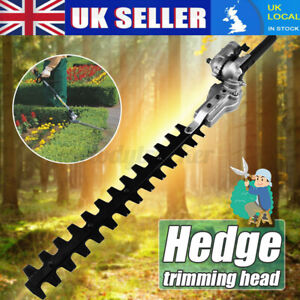 Pole Hedge Trimmer Attachment Fit Petrol Power Head Brush Cutter Lawn Mower