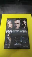 Deception (DVD, 2009, Widescreen) Hugh Jackman Michelle Williams Ewan McGregor