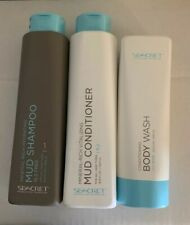Seacret  Body Wash Mineral Rich Mud Shampoo & conditioner