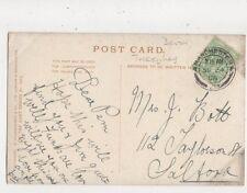 Mrs J Bott Taylorson Street Salford 1906 694a