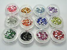 12000 Acrylic Tiny Square Flatback Rhinestone Gems 2mm + Storage Box Nail Art
