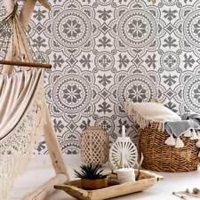 Tangier Tile Stencil - Cement Tile Stencils - DIY Floor Tiles