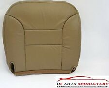 1999 Chevy Suburban LT LS -Driver Side Bottom Replacement Leather Seat Cover Tan