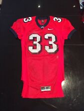 Game Worn Used Fresno State Bulldogs Football Jersey #33 Nike Size Medium