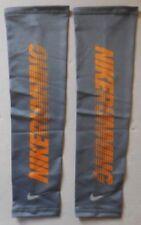Nike Lightweight Run Graphic Sleeves Cool Grey/Laser Orange Mens Women's L/Xl