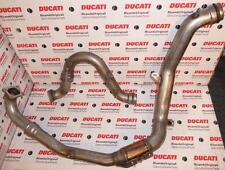 2003-2006 Ducati 749 999 Standard, 4 pieces vertical & horizontal exhaust pipes