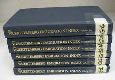 The Wuerttemberg Emigration Index ~ Volumes 1-6