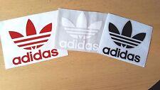 X2 Nero Adidas Logo Decalcomania Adesivi