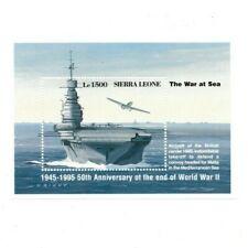 VINTAGE CLASSICS - Sierra Leone 1805 - Ve Day - Souvenir Sheet - MNH