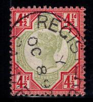 Großbritannien 1887 Mi. 92 Gestempelt 100% 4 1/2 p, Königin Victoria