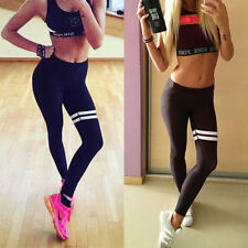 Lady Gym Yoga Workout High Waist Sports Running Pants Fitness Leggings Jogging J