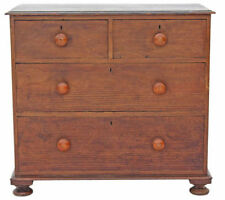 Pine Dutch/Flemish Victorian Chests of Drawers (1837-1901)