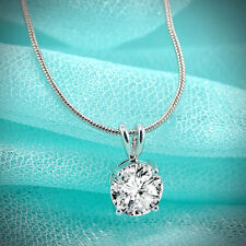 New Delicate Women Zircon Pendant Chain Chunky Statement Choker Necklace Jewelry