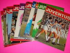 HURRA' JUVENTUS 1974 COMPLETO 1 / 12  DA EDICOLA con BLISTERATI ABBONAMENTO !