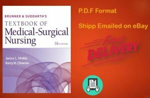 Textbook of Medical-surgical Nursing 14th + TEST BANK