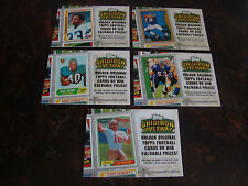 2010 Topps Football--Gridiron Giveaway--Lot Of 5--No Dupes--Multi-Lots--See List