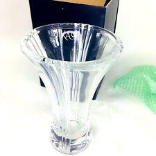 "MIKASA Boulevard Vase Lead Crystal 10.5"" from Germany EUC"