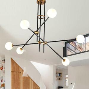 Kitchen Lamp Black Pendant Light Modern Ceiling Lights Large Chandelier Lighting