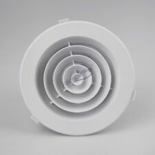 8X CEILING VENT CEILING VENT Round HEATING VENT OUTLET VENT ROUND VENTs 150mm 6""