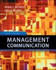 Management Communication : Principles and Pratice  >NEW<  PC:AE