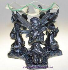 BELLISSIMO Abbassamento 3 Black Angel Fairies OLIO BRUCIATORE ~ NUOVO CON SCATOLA
