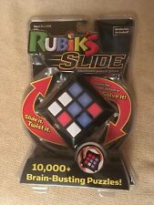 NEW Rubik's Slide Electronic Puzzle Game 10,000+ Brain Busting Puzzles