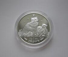 2007 corona de plata prueba Ragdoll Cat & Gatito, último nunca izquierda para ser reemplazado